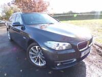 2014 BMW 5 Series 530d Luxury 5dr Step Auto Sat Nav! Heated Seats! 5 door Es...