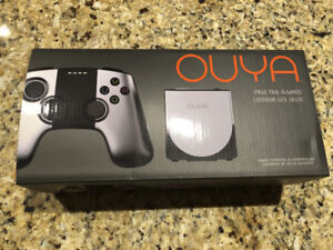 Ouya Android gaming console like new with box and controller