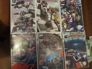 Transformers Generation 1 Vol. 2 War and Peace #1-6 Kitchener / Waterloo Kitchener Area image 1