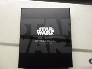 Star Wars Empire Strikes Back 1 oz. Silver Poster Coin - Mint