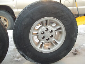 Dodge Dakota mags avec firestone