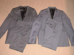 2 like new boys suits