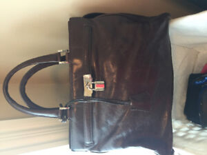 Danier Brown Learher Bag