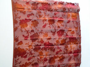 Floral light fabric for scarf