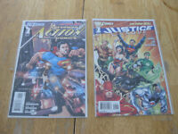 Action comics #1 and Justice League #1-New 52