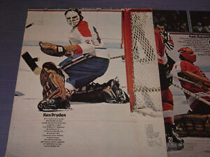 CARTES DE HOCKEY(LOT DE 8 POSTERS DIMANCHE MATIN 1972)