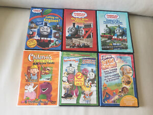 Kid's DVDs like Thomas the train