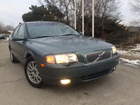 Lease to own in 2 years for $215+tax p/month 2001 Volvo S80