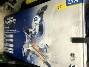 Mitre saw 12'' Laser New in Box