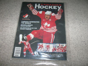 Canadian Hockey 1994/1995 Annual Edition + bonus jersey + skates