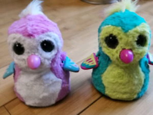 2 hatchimals neuf, perfect confition