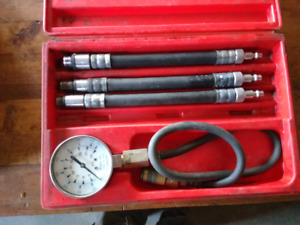 Snap-on compression tester