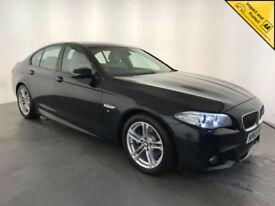 2013 63 BMW 520D M SPORT AUTO DIESEL 1 OWNER BMW SERVICE HISTORY FINANCE PX