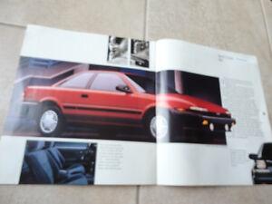 Vintage 1991 Toyota Corolla Sales Brochure Pamphlet Kitchener / Waterloo Kitchener Area image 6