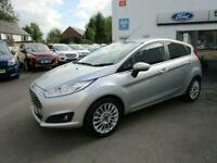 2014 Ford Fiesta TITANIUM 100ps ecoboost 5 door only 26963 miles Hatchback Petro