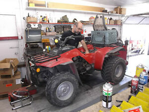Experienced Service For All Honda ATV'S