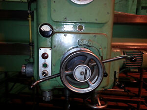 KOLB Radial Arm Drill Press NRK 53 Cnd$ Campbell River Comox Valley Area image 6