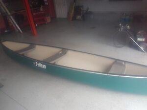 15.5 pelican canoe 15.5 ft long.