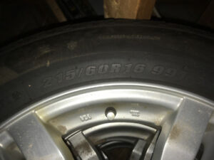 Winter tires and rims for sale,