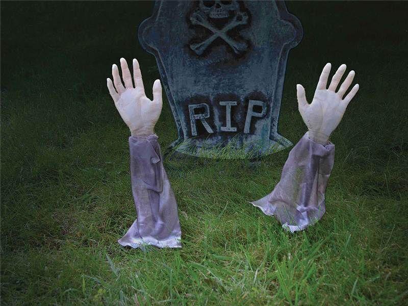 Cool halloween costumes props ebay - Deco jardin halloween ...