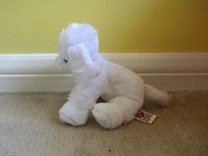 Webkinz White Toy Poodle Cambridge Kitchener Area image 2