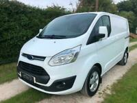2016 FORD TRANSIT CUSTOM VAN LIMITED 125PS ALLOY WHEELS AIR CON NO VAT