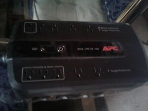 ALL THREE APC   BATTERY BACK UPS