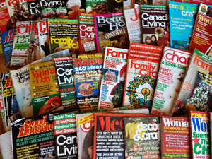 COLLECTION OF 50  CHRISTMAS  MAGAZINES