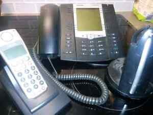 Complete executive office SIP phone set