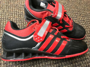 Adidas Adipower Weightlifting Shoes, Mens Size 9.5, Like NEW!