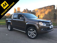 2014 Volkswagen Amarok 2.0BiTDi ( 180PS ) Auto Highline 4MOTION BRONZE SAT NAV