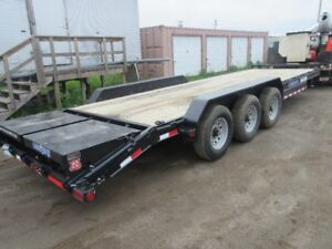 New 2017 26' Load Trail 21K Tri-Axle Car Hauler.. Never Used