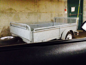 Fairly-New, Great Conditioned, Galvanized Steel Trailer