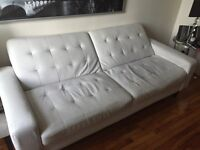 White couch/futon 75$