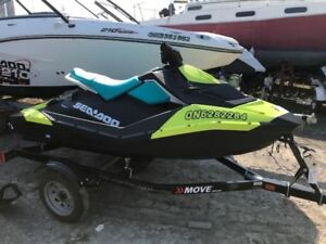 2018 Sea-Doo Spark 2up 900HO IBR Only 9 hours