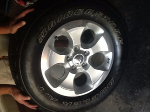 New Jeep Wrangler Tires and Rims Windsor Region Ontario image 1
