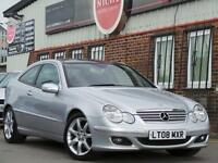 2008 Mercedes Benz C Class 2.1 C220 CDI SE 2dr 2 door Coupe