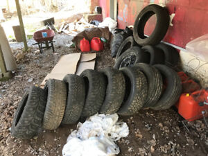 Eight 205/55 r16 tires for sale