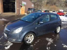 0909 Vauxhall Corsa 1.2i 16v SXi Blue 5 Door 74039mls MOT 12m