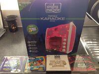 (Mint Condition) Portable Karaoke Unit.