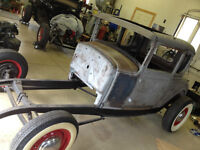 1930 Ford Model A Coupe Hotrod Project