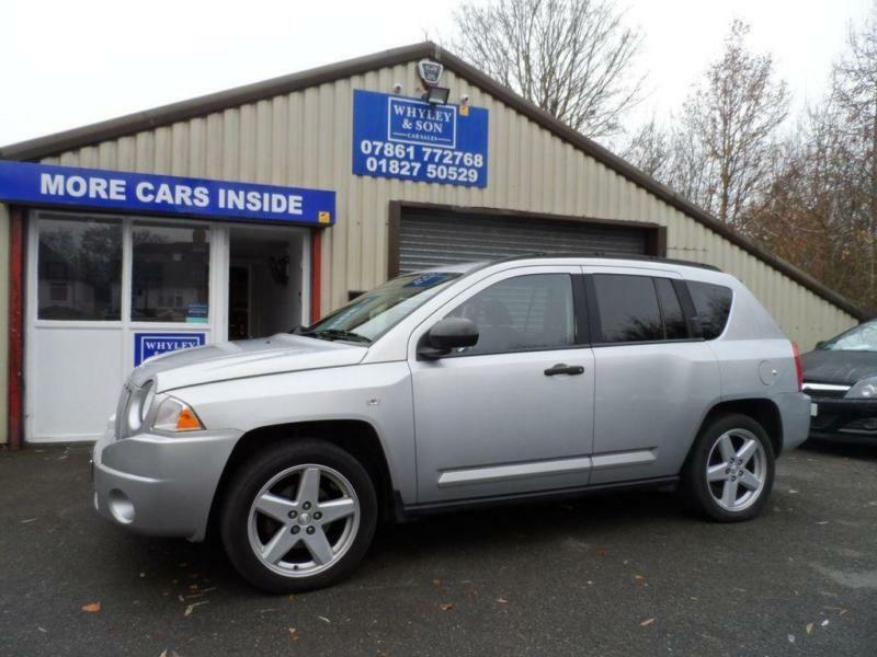 2008 08 Jeep Compass 2 0 Limited Crd 5d 139 Bhp Full Leather Low