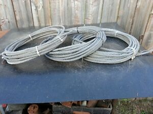 """3 Rolls of 3/8"""" Wire Rope"""