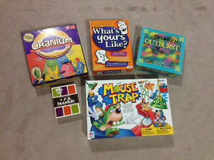 BOARD GAMES! PUZZLES! MOUSETRAP,MONOPOLY, TWILIGHT & MORE!