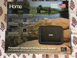 iHome Waterproof Portable Bluetooth Speaker (IBT35BLC)