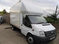FORD TRANSIT LUTON TAIL LIFT EXTENDED FRAME VAN 2012 2.2 TDCI 125 BHP T350 VGC