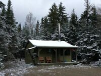 Traditional Hunting Camp / Cabin in the Hills of Albert County