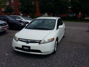2008 Honda Civic LX-Safety and Etested! Low KM!