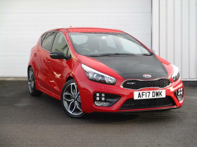 2017 Kia Cee D 1 6 T Gdi Gt Manual Hatchback In