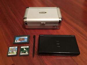 Nintendo DS Lite, Case and Games